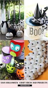 Easy Halloween Craft Projects - 8 easy halloween craft ideas and projects