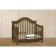 amelia 4 in 1 crib w toddler rail weathered cocoa twinkle