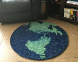 map rug etsy