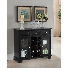 glass black sideboards buffets u0026 trolleys ebay