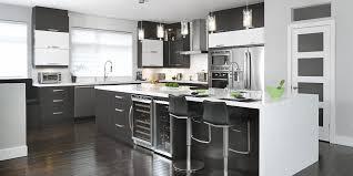 ergonomie cuisine îlot de cuisine armoires cuisines