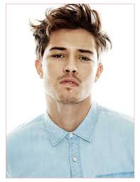 Mens Hairstyles Long On Top Shaved Sides by Mens Hairstyles Shaved Sides Long Top Together With Men Messy