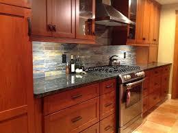 kitchen backsplash cherry cabinets kitchen backsplash cherry cabinets black counter