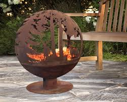 Fire Pit Globe by Globe Fire Pit Home Storage Systems From Store