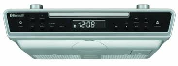 under cabinet stereo cd player amazon com sylvania skcr2713 under counter cd player with radio and