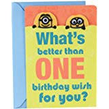 amazon com despicable me minion happy birthday card 1 in a