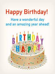 birthday cake u0026 colorful candle card birthday u0026 greeting cards