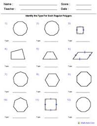 area of polygons worksheets free geometry worksheets