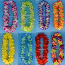 aliexpress buy hawaiian leis flower garland necklace hawaii