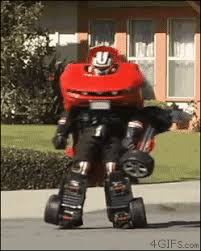Transformer Halloween Costume Super Impressive Transformer Costume Works Transformer