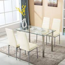 glass dining room sets dining room set ebay