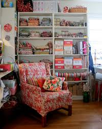 Craft Studio Ideas by Exciting Craft Room Ideas Come With Black Stained Wooden Chair