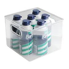 Bathroom Storage Bins by Amazon Com Interdesign Linus Bathroom Vanity Organizer Bin