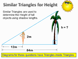 similar triangles applications passy u0027s world of mathematics
