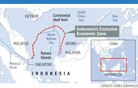 North Sea Map Indonesia Asserts Sovereignty At Sea Even As It Woos China Se
