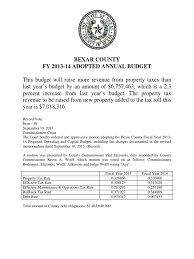 bexar county texas 2013 14 budget docshare tips