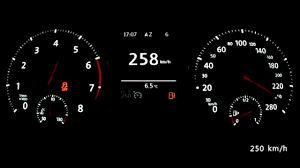 vw golf vii gti performance 2014 acceleration 0 240 km h top