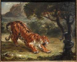 file tiger and snake by eugene delacroix 1862 corcoran gallery