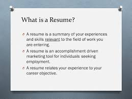 What Is An Resume What Is Resume You Need To Keep Updating Your Resume To Keep