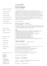 retail buyer resume objective exles resume retail exles sle resume retail supervisor retail