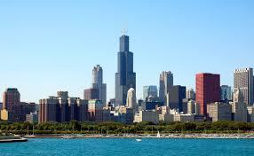bouwwerk willis tower in chicago illinois