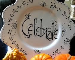 celebrate plate celebrate plate etsy