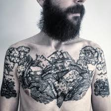 mine moby style sailor chest ink for skin