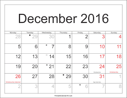 december 2016 calendar printable with holidays pdf and jpg
