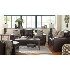 Chocolate Living Room Set Coppell Durablend Chocolate Living Room Set Benchcraft Furniture