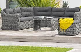 canapé de jardin en résine tressée emejing salon de jardin rond resine tressee ideas amazing house