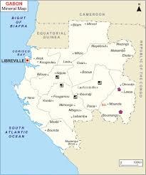 gabon in world map maps of gabon bizbilla