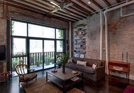 Industrial Living Room Furniture Living Room - Industrial living room design ideas