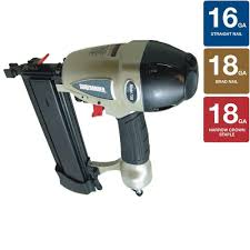 Best Pneumatic Staple Gun For Upholstery Surebonder Pneumatic 3 In 1 Stapler Nailer Tool 7760 The Home Depot