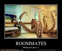 Housemate Meme - roommates always up in your shit student village