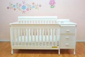 Convertible Crib Changing Table by Nursery Decors U0026 Furnitures Convertible Crib With Changing Table