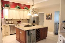 Two Toned Kitchen Cabinets by Fabuwood Cabinetry Wellington Door Style Wellington Ivory