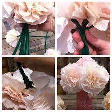 Homemade Flowers Coffee Filter Flowers