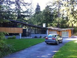 House Exterior Design Modern Home Renovation North Vancouver Mid Century Modern Midcentury Exterior