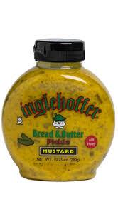 dill mustard inglehoffer bread butter pickle mustard 10 25 oz beaverton foods