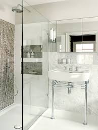 Bathroom Shower Shampoo Holder Recessed Soap And Shampoo Holder Bathroom Contemporary With Walk