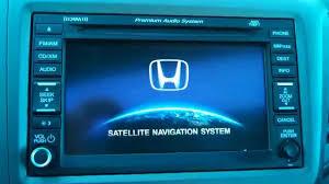 12 14 honda civic u0026 crv navigation reset clear navi delete gps