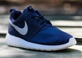 rosh run shoefax nike roshe run suede obsidian