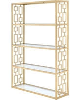 get the deal regency baughman inspired bookcase etagere glass