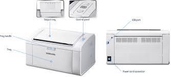 New Amazon.com: Samsung ML-2165W/XAC Wireless Monochrome Printer  #IW13