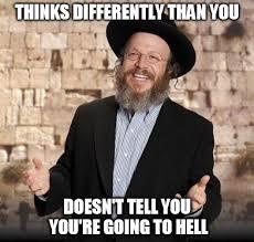 Jew Meme - good guy jew with commentary