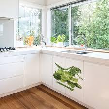 potager pour cuisine sticker adhésif pour électroménager légumes du potager