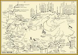 Asia Minor Map by Metron Ariston Prehistoric Asia Minor
