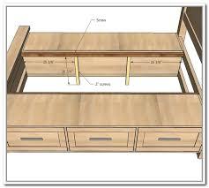 Queen Platform Beds With Storage Drawers - queen platform storage bed with 6 drawers home design ideas