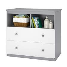 cosco willow lake changing table white gray ameriwood home willow lake changing table gray buy online in uae