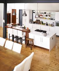 44 grand rectangular kitchen designs pictures a lovely contemporary kitchen with a few modern flairs including slim cabinets with long pulls